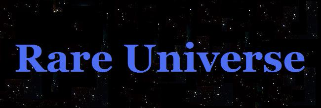 Rare Universe - Big Bang Cosmology